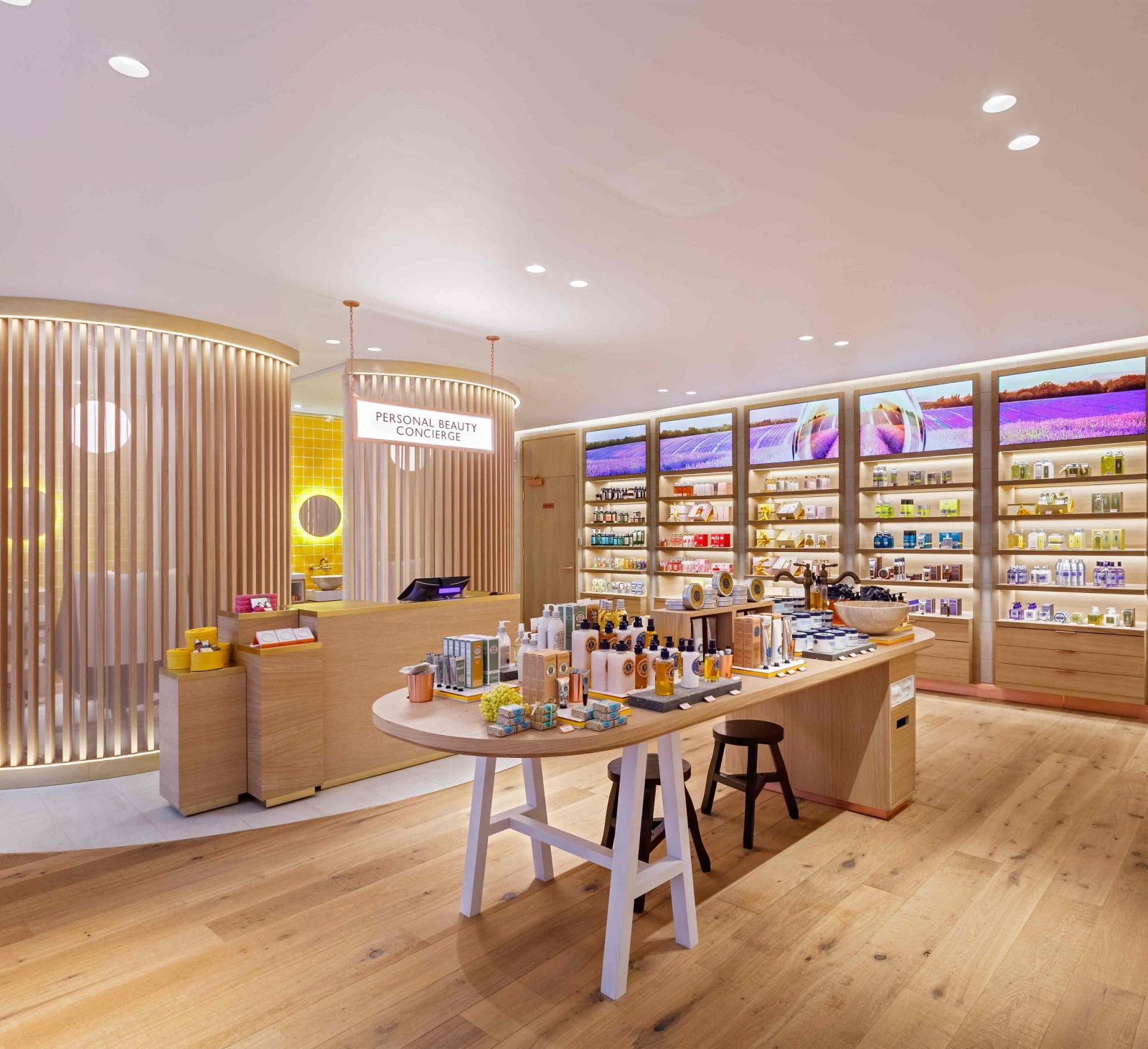 Lighting Solution Beauty Skincare Retail Store Design Consultants Studio N