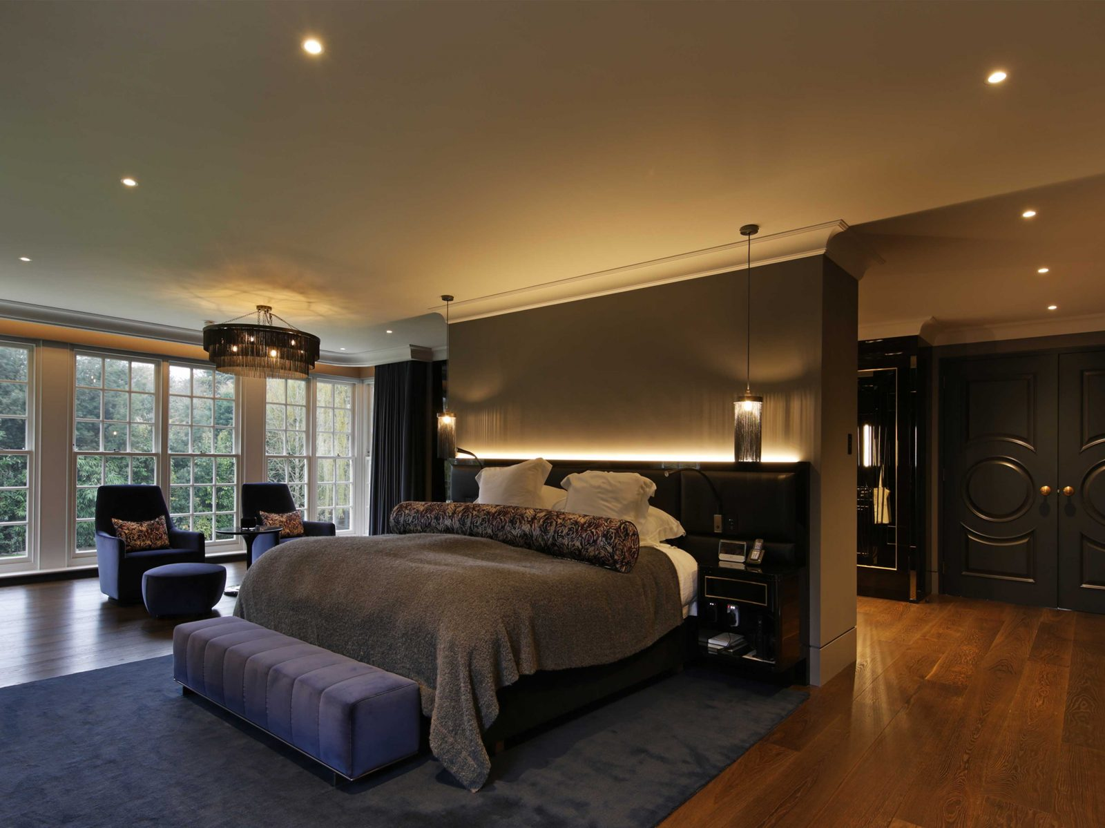 Lighting Design Bedroom Suite Residential Interior Studio N