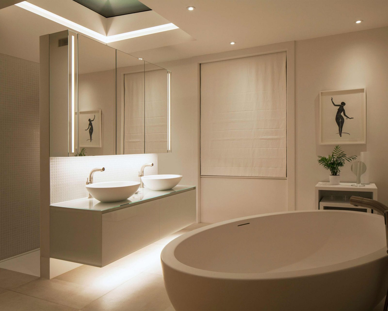 Architectural Lighting Design House Bathroom Skylight Consultants Studio N