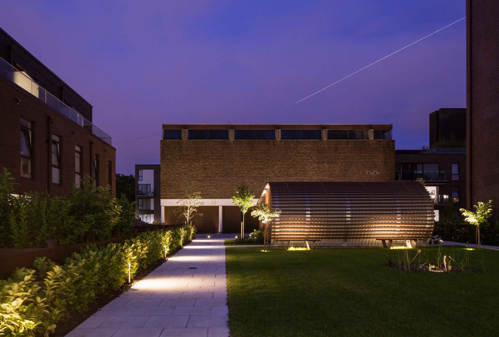 Architectural lighting design housing development gardens landscape studio n