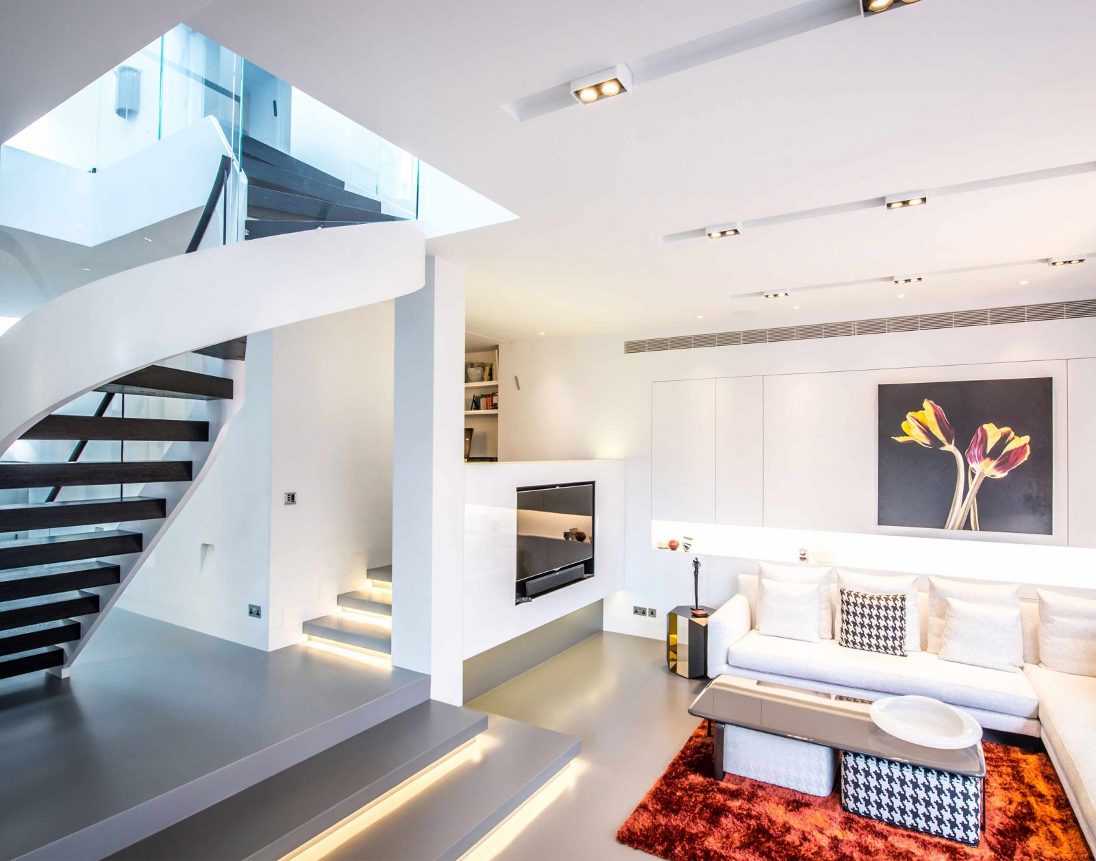 Architectural Lighting Design Contemporary House Interior Living Space Studio N